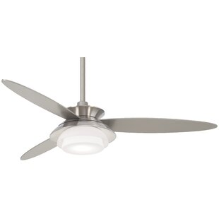 Look for 56 Stack 3 Blade LED Ceiling Fan with Remote By Minka Aire