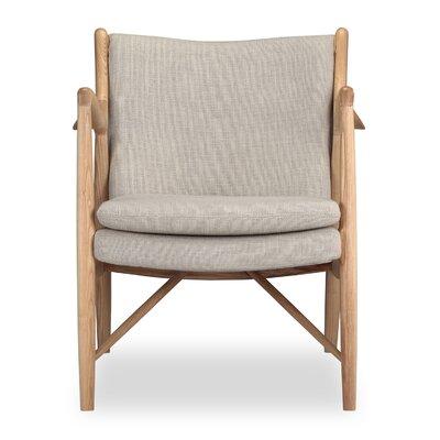 Rashad Armchair Corrigan Studio Upholstery: Urban Hemp