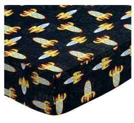 Outer Space Square Pack N Play Sheet BySheetworld