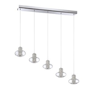 Aria 5-Light Cluster Pendant by Kendal Lighting