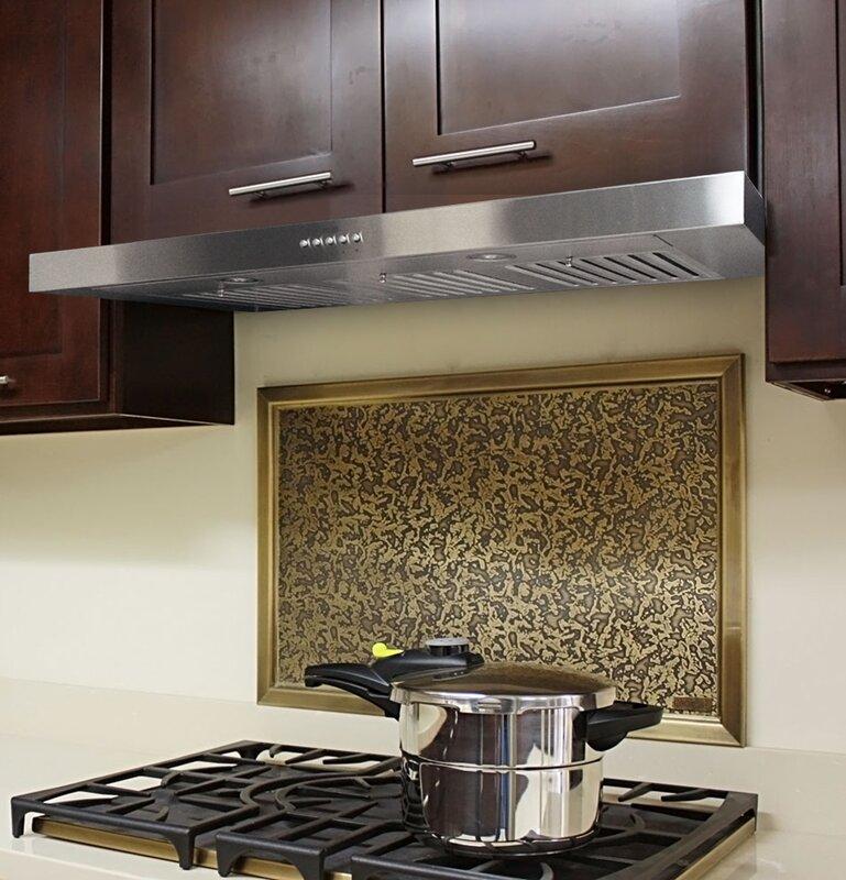 42 Brillia 750 Cfm Ducted Under Cabinet Range Hood