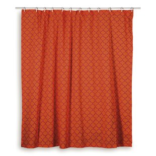 Find Charleena  Cotton Shower Curtain ByWildon Home ®