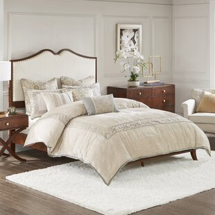 Eleanor Queen Upholstered Panel Bed