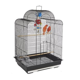 San Luis Bird Cage in Black by Rainforest Cages