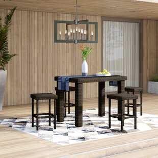Belton 5 Piece Bar Height Dining Set