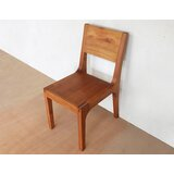 Segovia Solid Wood Dining Chair by Masaya & Co