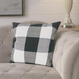 Corina Buffalo Cotton Throw Pillow
