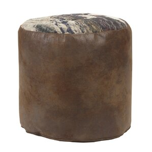 Cowboy Tapestry Ottoman by American Furniture Classics