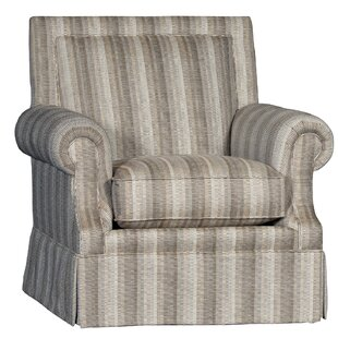 Cissell Swivel Club Chair by Rosecliff Heights