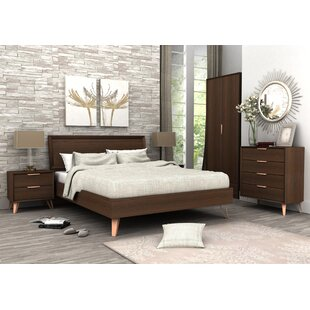 Lininger Queen Panel Configurable Bedroom Set by Union Rustic