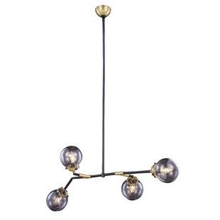 Corrigan Studio Roman 4-Light Sputnik Chandelier