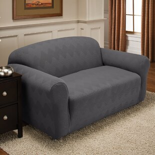 Levine Box Cushion Loveseat Slipcover