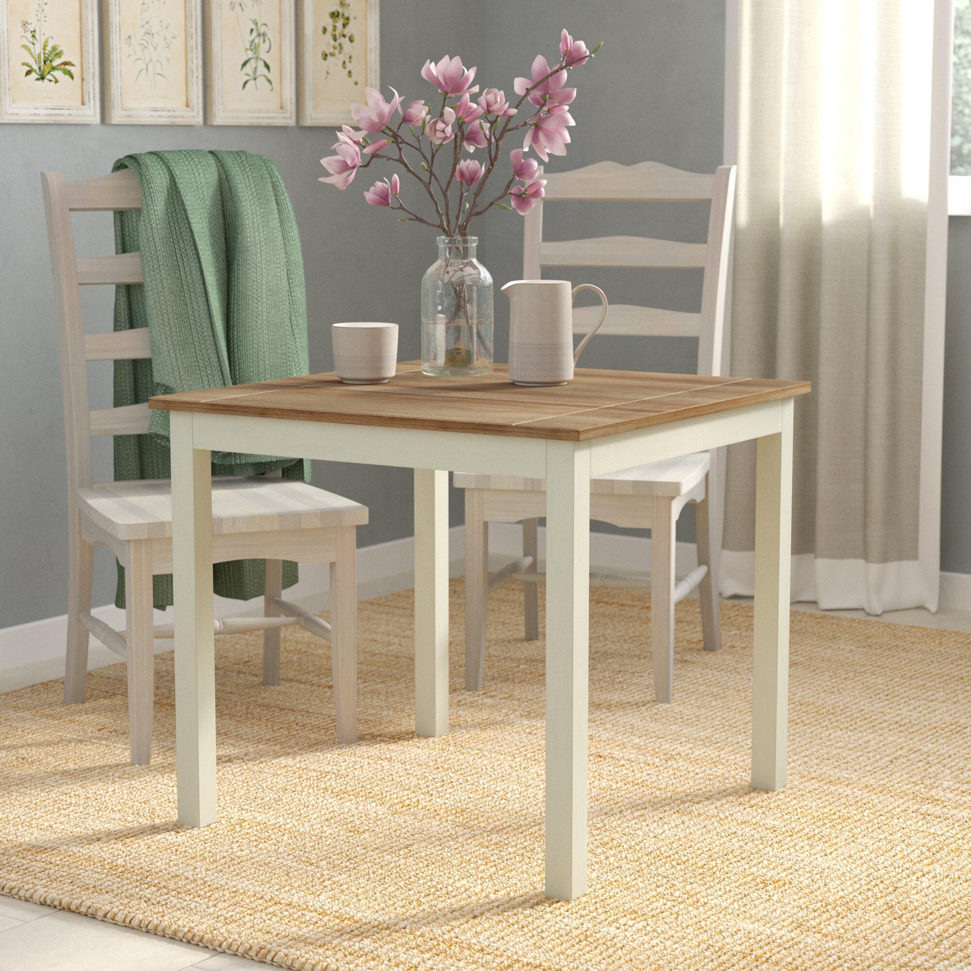August grove stetler modern dining table reviews wayfair