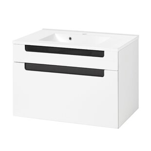 Eliora 800mm Wall Hung Vanity Unit By Mercury Row