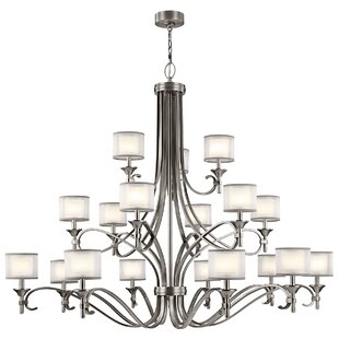 Darby Home Co Boswell 18-Light Shaded Chandelier