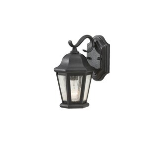 Read Reviews Hereford 1-Light Outdoor Wall Lantern By Darby Home Co