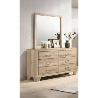 Three Posts Sedgefield 6 Drawer Double Dresser Reviews