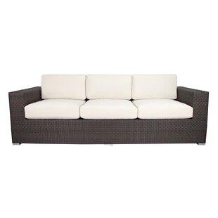 Brayden Studio Ropp Patio Sofa with Cushions