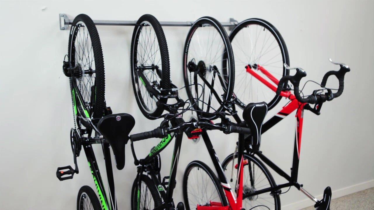 monkey bar 6 bike storage wall mounted bike rack u0026 reviews wayfair