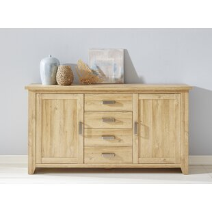 Tessa Solid Recycled Wood Sideboard By Natur Pur