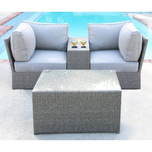 Winsford 4 Piece Sectional Set with Cushions