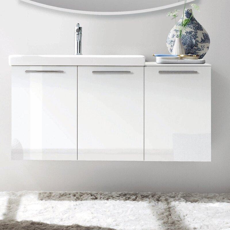 Cusack 42 Single Modern Bathroom Vanity Set