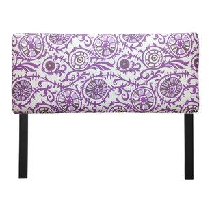 Sole Designs Ali Suzani Grapevine Upholstered Panel Headboard