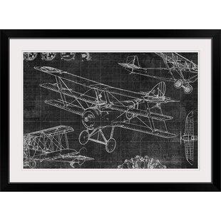 Vintage Aviation Art Wayfair