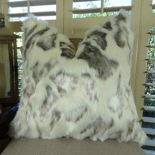 Jowers Rabbit Faux Fur Pillow