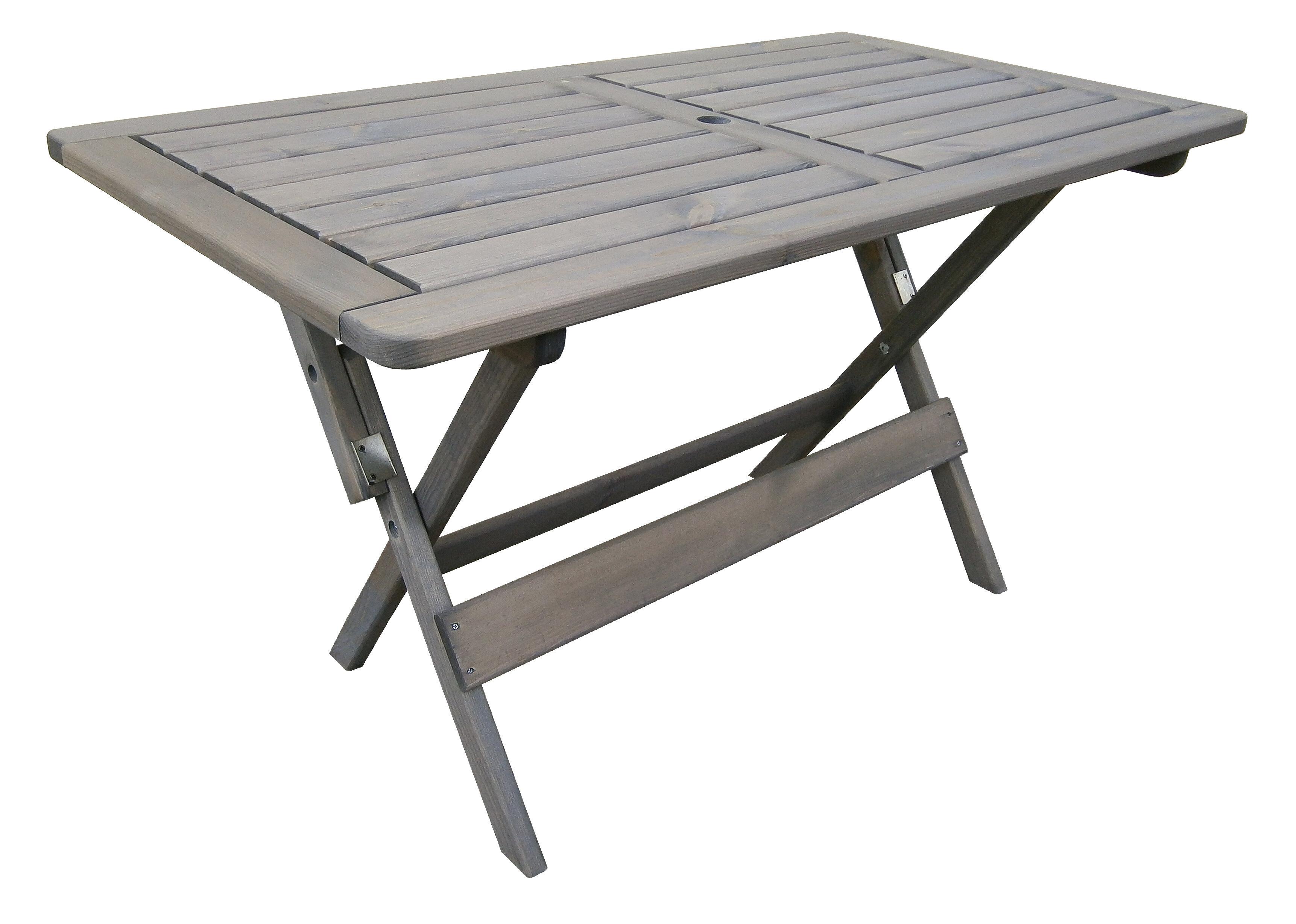 Arinda Folding Wooden Dining Table