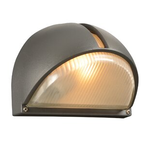 Tuck 1-Light Outdoor Flush Mount By Ebern Designs Outdoor Lighting
