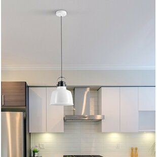 Ebern Designs Selene 1-Light Bell Pendant