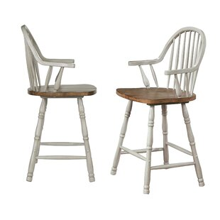 Country Grove Solid Wood 1775 Short Stool by Sunset Trading