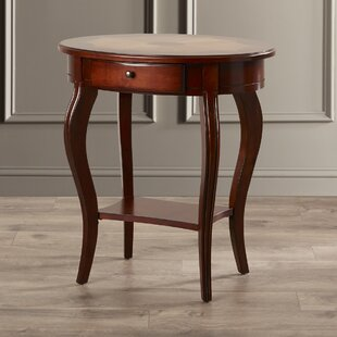 Mela Cherry End Table