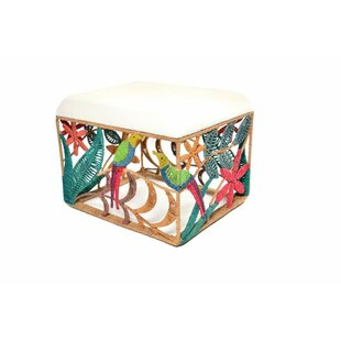 LurLine Cocktail Ottoman by Bay Isle Home