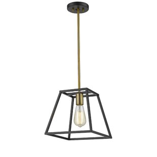 Wrought Studio Mullens 1-Light Lantern Pendant