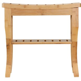 Pleasing Damm Bamboo Small Bench With Shelf Andrewgaddart Wooden Chair Designs For Living Room Andrewgaddartcom