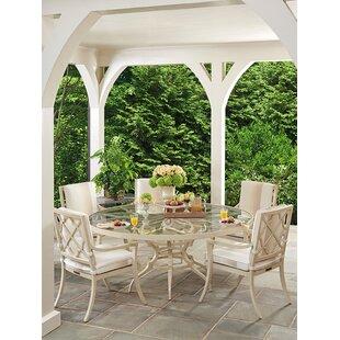 Misty Garden Patio Dining Chair with Cushion