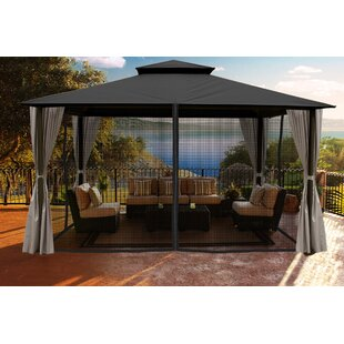Sedona 11 Ft. W x 14 Ft. D Aluminum Patio Gazebo by Paragon-Outdoor