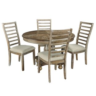 Bray 5 Piece Dining Set by Ophelia & Co. Herry Up