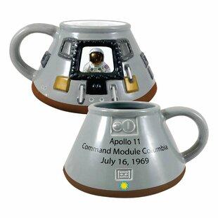 Smithsonian Apollo 11 Module 20 oz. Sculpted Coffee Mug