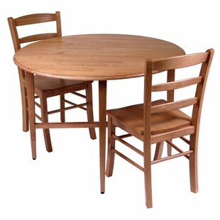 Anthem 3 Piece Dining Set Red Barrel Studio