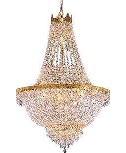 Dyann 9-Light LED Chandelier