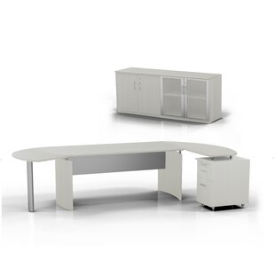 Mayline Group Medina 5-Piece Standard Desk Office Suite