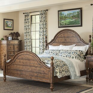 Peatman Four Poster Bed by August Grove