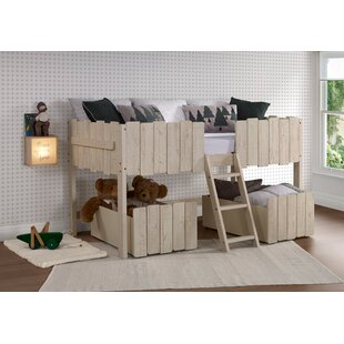 Cogburn Twin Low Loft Bed with Drawers by Isabelle amp Max