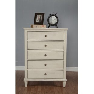 One Allium Way Shirke 5 Drawer Dresser