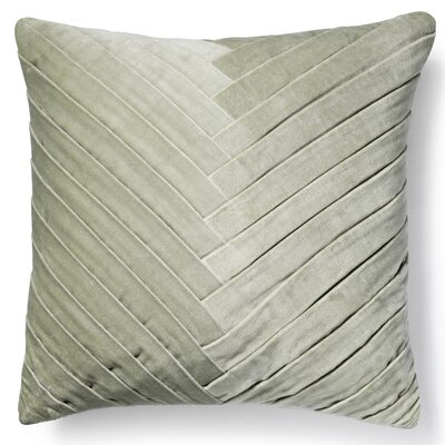 Brayden Studio Northwick Cotton Pillow Cover Color: Mint