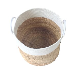 Discount Rope Woven Laundry Basket