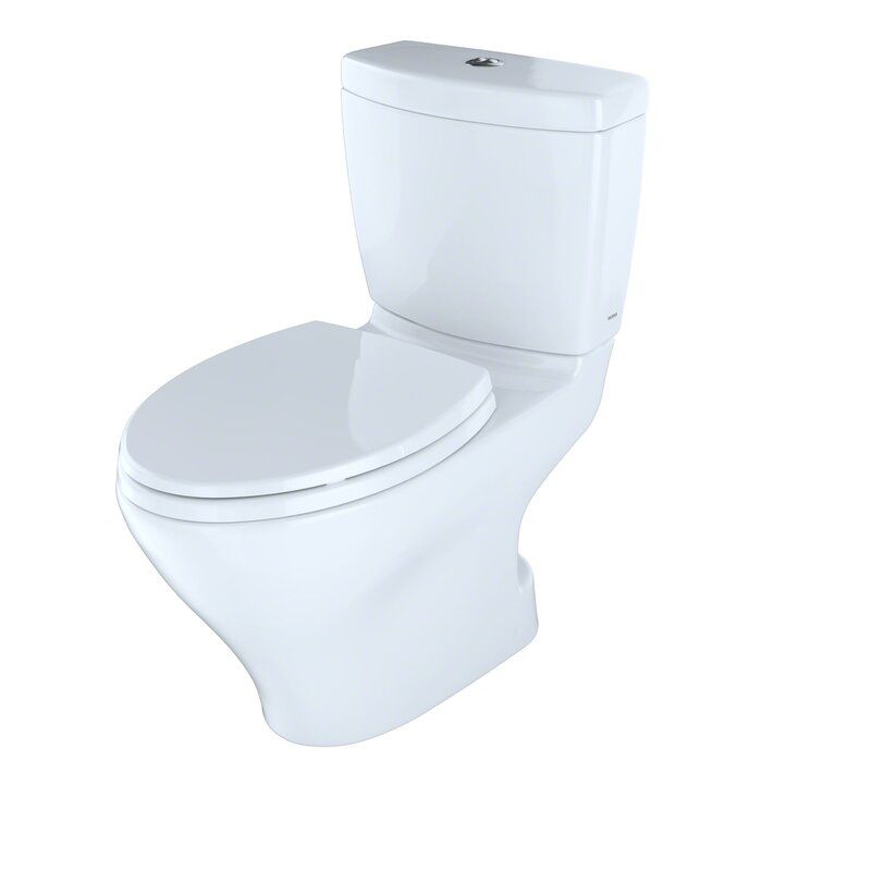 Toto Aquia II Dual Flush Elongated Two-Piece Toilet & Reviews | Wayfair